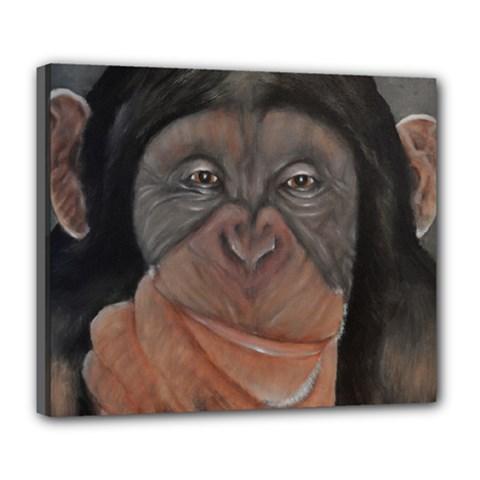 Menschen   Interesting Species! Deluxe Canvas 24  X 20   by timelessartoncanvas
