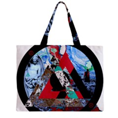 Somewhere Not Here Zipper Tiny Tote Bags by Lab80