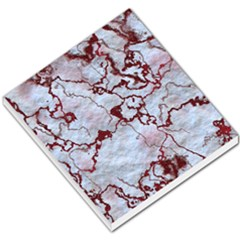 Marbled Lava Red Small Memo Pads by MoreColorsinLife