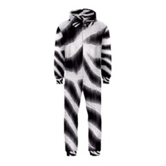Zebra Print Abstract  Hooded Jumpsuit (kids)