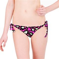 Pink Cheetah Abstract  Bikini Bottoms
