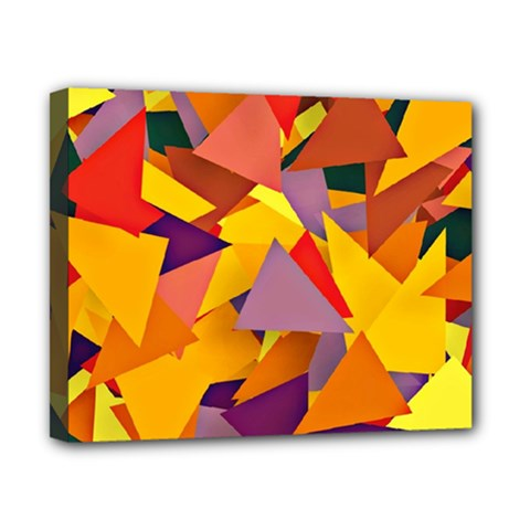 Geo Fun 8 Colorful Canvas 10  x 8  by MoreColorsinLife