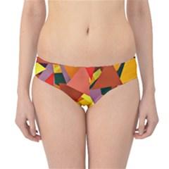 Geo Fun 8 Colorful Hipster Bikini Bottoms by MoreColorsinLife
