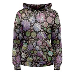 Sweet Allover 3d Flowers Women s Pullover Hoodies