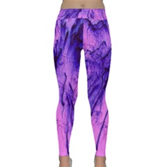 Special Fireworks Pink,blue Yoga Leggings by ImpressiveMoments