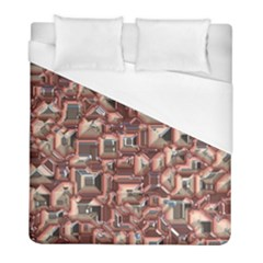 Metalart 23 Peach Duvet Cover Single Side (twin Size) by MoreColorsinLife