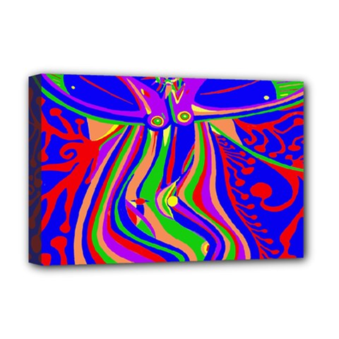 Transcendence Evolution Deluxe Canvas 18  X 12   by icarusismartdesigns