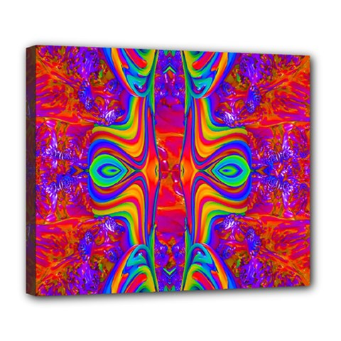 Abstract 1 Deluxe Canvas 24  X 20   by icarusismartdesigns