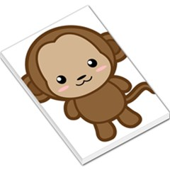 Kawaii Monkey Large Memo Pads by KawaiiKawaii