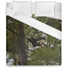 Bald Eagle Duvet Cover (double Size) by timelessartoncanvas