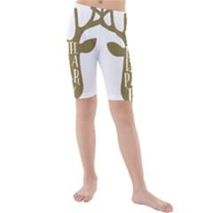 Life Is A Party Buck Deer Kid s Swimwear