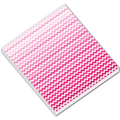 Pink Gradient Chevron Small Memo Pads