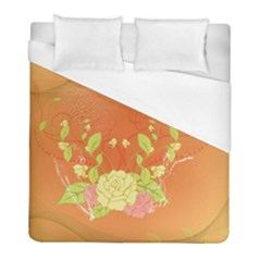 Beautiful Flowers In Soft Colors Duvet Cover Single Side (twin Size) by FantasyWorld7