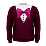 School uniform sweater: Men, pink - Men s Sweatshirt