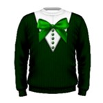 School uniform sweater: Men, green - Men s Sweatshirt