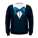 School uniform sweater: Men, blue - Men s Sweatshirt