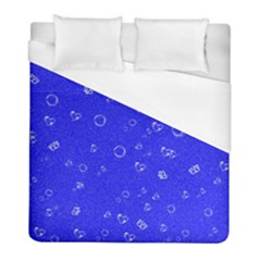 Sweetie Blue Duvet Cover Single Side (twin Size) by MoreColorsinLife