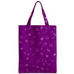 Sweetie,purple Zipper Classic Tote Bags