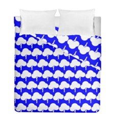 Tree Illustration Gifts Duvet Cover (twin Size) by creativemom