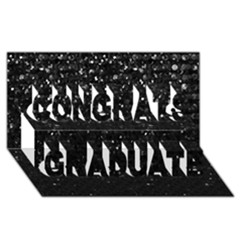 Crystal Bling Strass G283 Congrats Graduate 3d Greeting Card (8x4)  by MedusArt