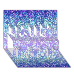 Glitter 2 You Rock 3d Greeting Card (7x5)  by MedusArt