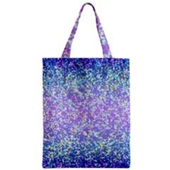 Glitter 2 Zipper Classic Tote Bags by MedusArt