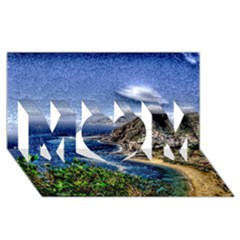 Tenerife 12 Effect Mom 3d Greeting Card (8x4)  by MoreColorsinLife