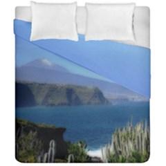Panted Landscape Tenerife Duvet Cover (double Size) by MoreColorsinLife