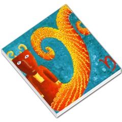 Capricorn Zodiac Sign Small Memo Pads by julienicholls
