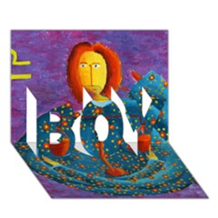 Libra Zodiac Sign Boy 3d Greeting Card (7x5) by julienicholls