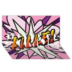 Comic Book Fille! #1 Mom 3d Greeting Cards (8x4)  by ComicBookPOP