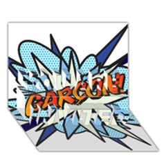 Comic Book Garcon! You Are Invited 3d Greeting Card (7x5)  by ComicBookPOP