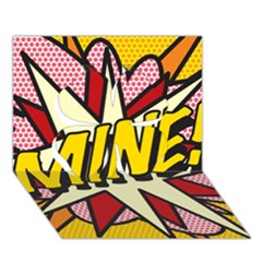 Comic Book Mine! Clover 3d Greeting Card (7x5)  by ComicBookPOP
