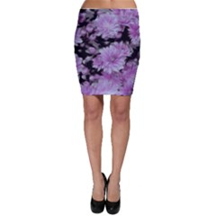 Phenomenal Blossoms Lilac Bodycon Skirts by MoreColorsinLife