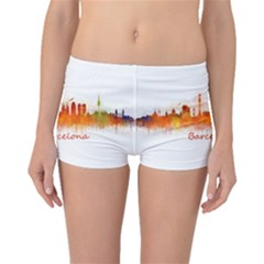 Barcelona City Art Boyleg Bikini Bottoms by hqphoto