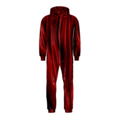 Shiny Silk Red Hooded Jumpsuit (Kids)
