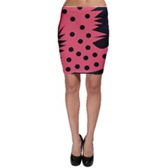Monster Bird Red Bodycon Skirts by CircusValleyMall