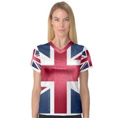 Brit3 Women s V-Neck Sport Mesh Tee by ItsBritish