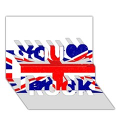 Brit5 You Rock 3D Greeting Card (7x5)  by ItsBritish