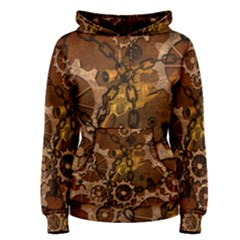 Steampunk In Rusty Metal Women s Pullover Hoodies by FantasyWorld7