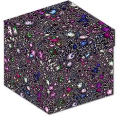 Sci Fi Fantasy Cosmos Pink Storage Stool 12   by ImpressiveMoments