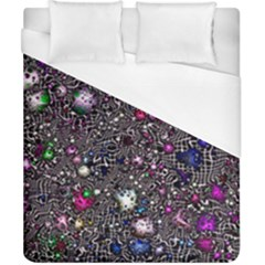 Sci Fi Fantasy Cosmos Pink Duvet Cover Single Side (double Size) by ImpressiveMoments