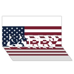 Usa999 Sorry 3d Greeting Card (8x4)