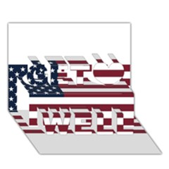 Usa999 Get Well 3d Greeting Card (7x5)  by ILoveAmerica
