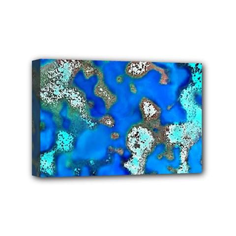 Cocos Reef Sinkholes Mini Canvas 6  X 4  by CocosBlue