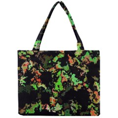 Splatter Red Green Tiny Tote Bags by MoreColorsinLife