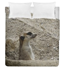 Adorable Meerkat Duvet Cover (Full/Queen Size) by ImpressiveMoments