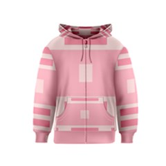 Pinkette Carolianne Kids Zipper Hoodies