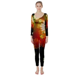 Long Sleeve Catsuit by FantasyWorld7