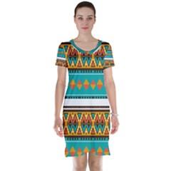 Short Sleeve Nightdress by LalyLauraFLM